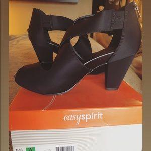EasySpirit comfortable satin evening sandal
